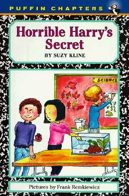 Horrible Harry's Secret Cover Image