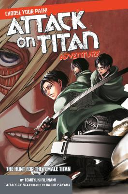 Attack on Titan Choose Your Path Adventure 2 cover image
