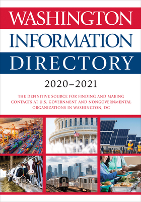 Washington Information Directory 2020-2021 Cover Image