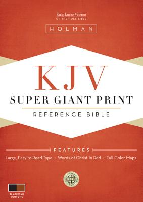 Super Giant Print Reference Bible-KJV Cover