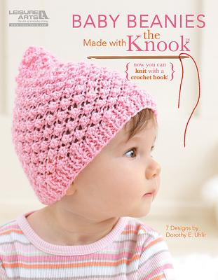 Baby Beanies Made with the Knook Cover