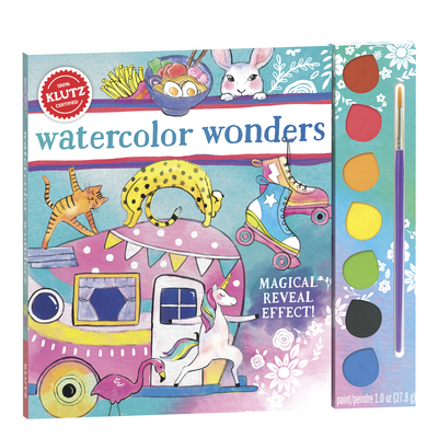 Watercolor Wonders (Klutz) Cover Image