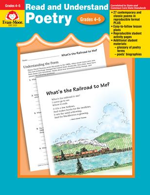 Read & Understand Poetry, Grades 4-5 (Evan-Moor) Cover Image