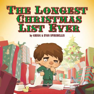 The Longest Christmas List Ever Cover