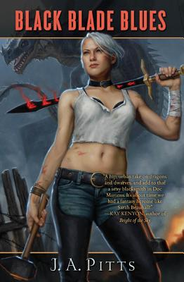 Black Blade Blues (Sarah Jane Beauhall #1) Cover Image