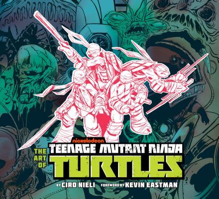 The Art of Teenage Mutant Ninja Turtles Cover Image