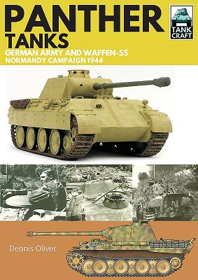 Panther Tanks: Germany Army and Waffen Ss, Normandy Campaign 1944 (Tankcraft #3) Cover Image