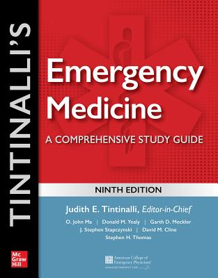 Tintinalli's Emergency Medicine: A Comprehensive Study Guide, 9th Edition Cover Image