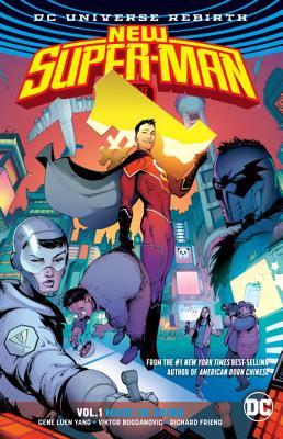 New Super-Man Vol. 1: Made In China (Rebirth) Cover Image