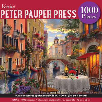 Venice Jigsaw Puzzle Cover Image