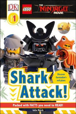 DK Readers L1: The LEGO® NINJAGO® MOVIE : Shark Attack! (DK Readers Level 1) Cover Image