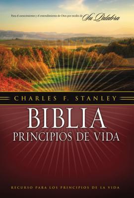 Biblia Principios de Vida Charles F. Stanley-RV 1960 = Charles F. Stanley Life Principles Bible-RV 1960 Cover Image