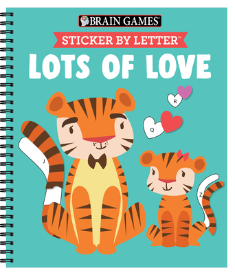 Brain Games - Sticker by Letter: Lots of Love Cover Image