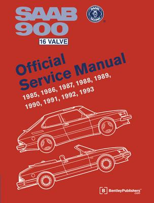 SAAB 900 16 Valve Official Service Manual: 1985-1993 Cover Image