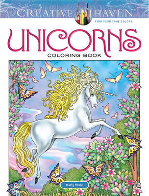 Creative Haven Unicorns Coloring Book (Creative Haven Coloring Books) Cover Image