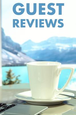 Guest Reviews: Guest Reviews for Airbnb, Homeaway, Bookings, Hotels, Cafe, B&b, Motel - Feedback & Reviews from Guests, 100 Page. Gre Cover Image