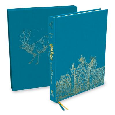 Harry Potter and the Prisoner of Azkaban: The Illustrated, Collector's Edition (Harry Potter, Book 3) Cover Image