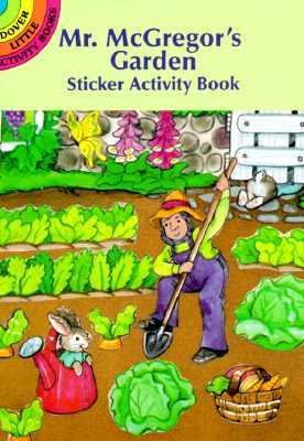 Mr. McGregor's Garden Sticker Activity Book Cover Image