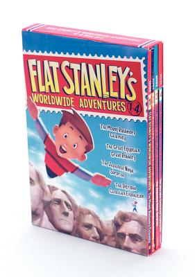 Flat Stanley's Worldwide Adventures #1-4 Box Set Cover Image