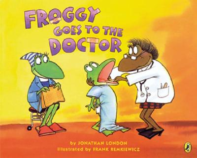 Froggy Goes to the Doctor Cover Image