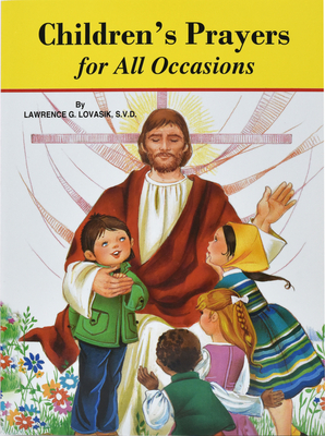 Children's Prayers for All Occasions (St. Joseph Picture Books #493) Cover Image