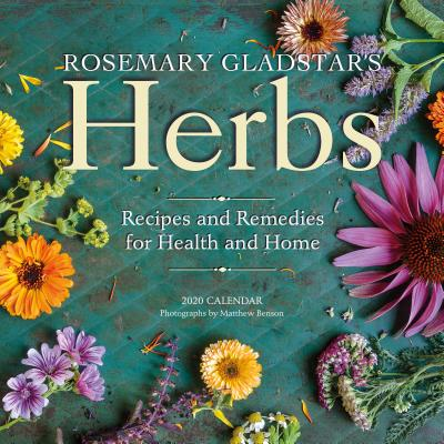 Rosemary Gladstar's Herbs Wall Calendar 2020 Cover Image
