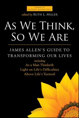 Cover for As We Think, So We Are
