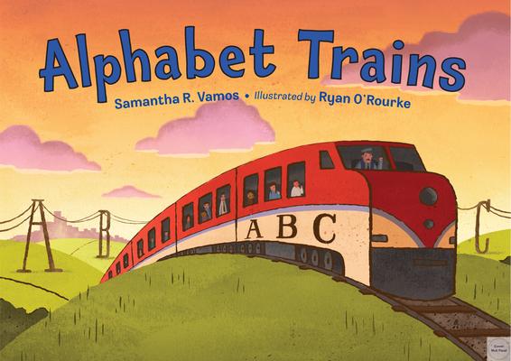 Alphabet Trains Cover Image