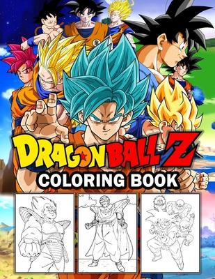 Dragon Ball Z coloring book: dragon ball super coloring book Cover Image