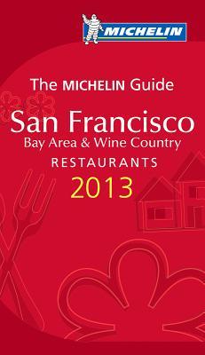 Michelin Guide San Francisco 2013 Cover