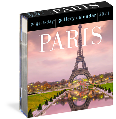 Paris Page-A-Day Gallery Calendar 2021 Cover Image