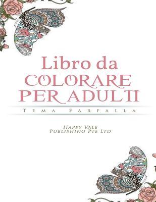 Libro da colorare per adulti: Tema Farfalla Cover Image