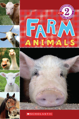 Scholastic Reader Level 2: Farm Animals Cover Image