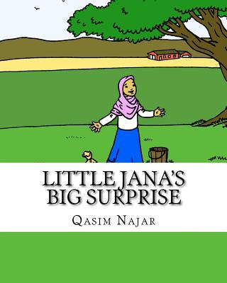 Little Jana's Big Surprise: A Story and Coloring Book for Children Cover Image