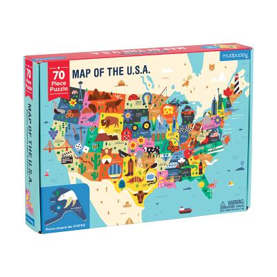 Map of the U.S.A. Puzzle Cover Image