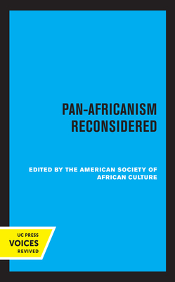 Pan-Africanism Reconsidered Cover Image