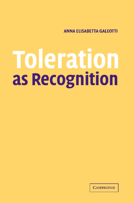 Toleration as Recognition Cover Image