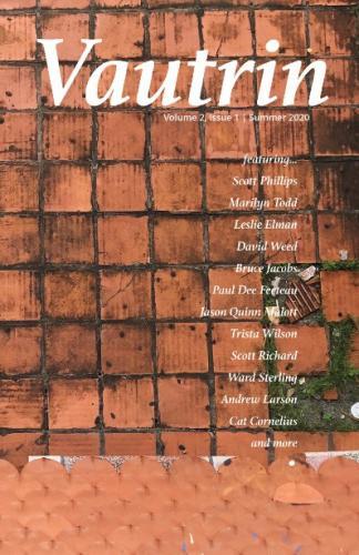 Vautrin - volume 2, issue 1 Summer 2020 Cover Image