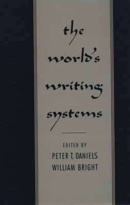 Cover for The World's Writing Systems