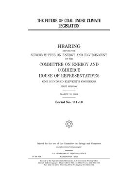 The future of coal under climate legislation Cover Image