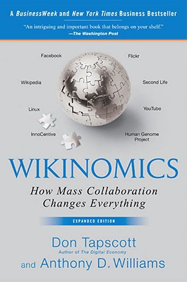 Wikinomics: How Mass Collaboration Changes Everything Cover Image