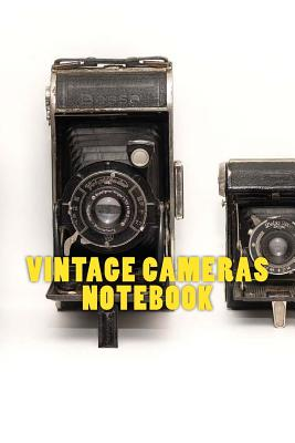 Vintage Cameras Notebook Cover Image