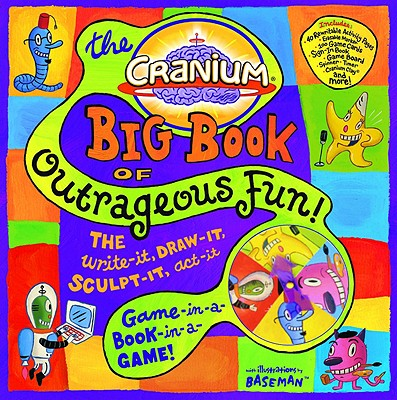 Cranium Big Book of Outrageous Fun! Cover