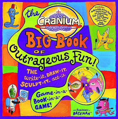 Cranium Big Book of Outrageous Fun! Cover