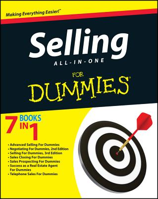 Selling All-In-One for Dummies Cover