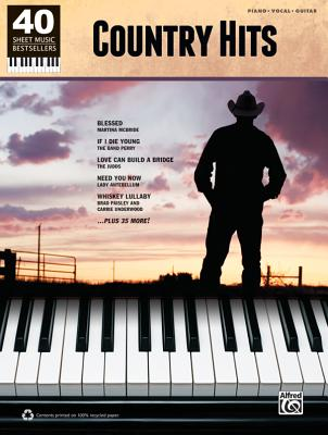 Country Hits: Piano/Vocal/Guitar Cover Image