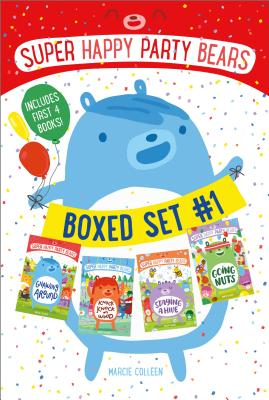 Super Happy Party Bears Boxed Set #1: Gnawing Around; Knock Knock on Wood; Staying a Hive; Going Nuts Cover Image