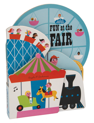 Bookscape Board Books: Fun at the Fair: (Lift the Flap Book, Block Books for Preschool) Cover Image