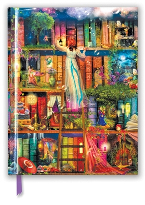 Aimee Stewart: Treasure Hunt Bookshelves (Blank Sketch Book) (Luxury Sketch Books) Cover Image