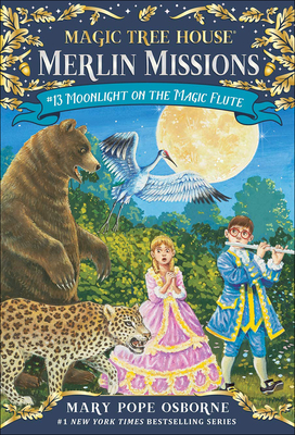 Moonlight on the Magic Flute (Magic Tree House #41) Cover Image